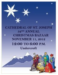 12:00 TO 6:00 P.M. - Cathedral of Saint Joseph