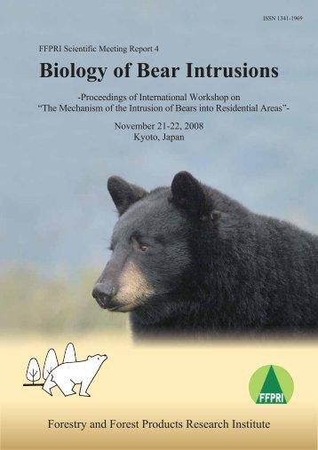 Biology of Bear Intrusions