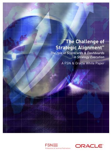 FSN: The Challenge of Strategic Alignment - Oracle