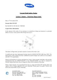 FSN 035 Action 3 Junior push Bar amended - Invacare UK