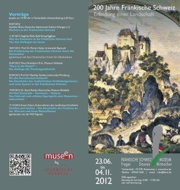 200 Jahre Fränkische Schweiz - Klepper Museum eV