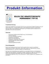 Technisches Datenblatt - BTC Linke & SILCO-TEC GmbH