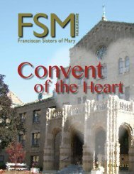 Download pdf (2.77 MB/24 pg) - Franciscan Sisters of Mary