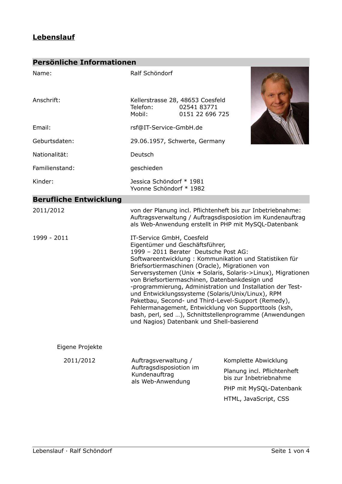 Schön Lebenslauf Zusammenfassung Der Qualifikationen Kundendienst ...