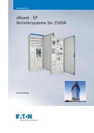 xBoard - EP Verteilersysteme bis 2500A - Moeller