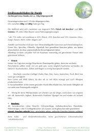 Ernährungsleitfaden für Hunde - Ganzheitliche Tierarztpraxis Mag ...