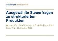 Präsentation - Schweizerischer Verband für Strukturierte Produkte ...