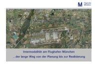 Intermodalität am Flughafen München, Dirk Düsenberg & Stefan