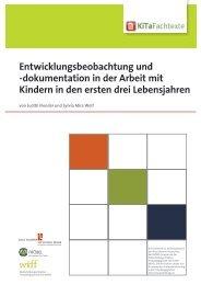 Entwicklungsbeobachtung und -dokumentation in ... - KiTa Fachtexte