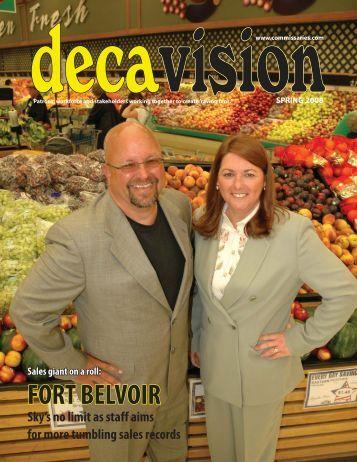 DeCA Vision Spring 2008 Vol. 17, No. 3 - Commissaries.com