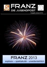 Franz Ausgabe Januar 2013 - Jugend St. Franziskus Karlsruhe