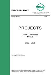 PROJECTS - DGMK