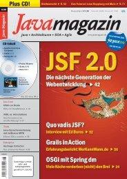 Java Magazin 8/09 – IBM Jazz - ARS Computer und Consulting GmbH