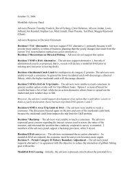 October 31, 2006 Monkfish Advisory Panel Advisors Present ...