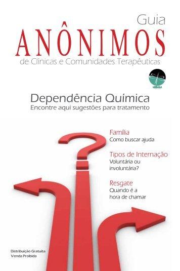 Dependência Química - Revista Anônimos
