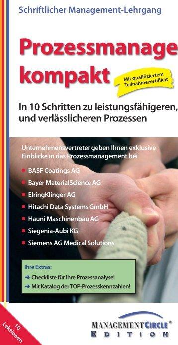 Schriftlicher Management-Lehrgang - bps business process ...