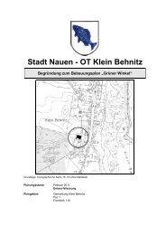 Stadt Nauen - OT Klein Behnitz