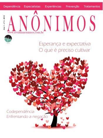 Edição Janeiro de 2012 - Versão em PDF - Revista Anônimos