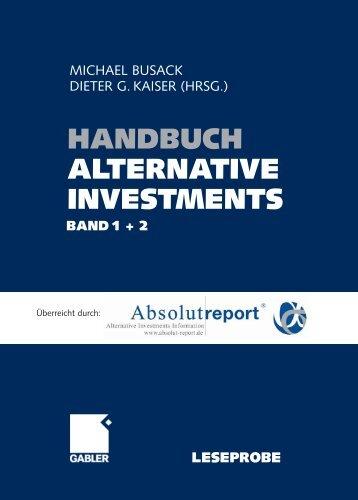 Handbuch Alternative Investments - SECA