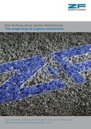 Hauptkatalog - Zoller+Fröhlich GmbH