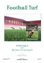 Sportfloor Technologies - Fksportbau.ch