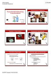 Forum Handschuhberatung: Friseurhandwerk Geeignete Handschuhe