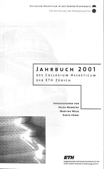 Samtpfoten und Ohrfeigen - ETH Zürich