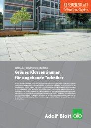 Technisches Schulzentrum, Heilbronn - Adolf Blatt GmbH & Co. KG ...