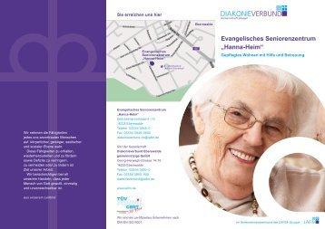 """Evangelisches Seniorenzentrum """"Hanna-Heim"""" - lafim"""