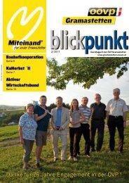 Danke für 26 Jahre Engagement in der ÖVP ! - ÖVP Ottensheim