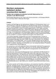Situation in - Landvolk Niedersachsen