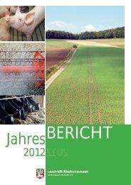 Jahresbericht - Landvolk Niedersachsen