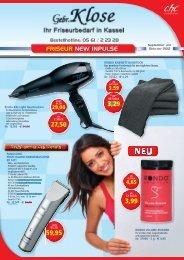 FRISEUR NEW INPULSE 3,59 29,00 4,65 9 - Gebr. Klose GmbH