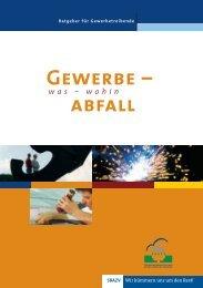 Gewerbe – abfall - Südbrandenburgischer Abfallzweckverband