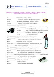 Handout Modalverben DaF (Deutsch als Fremdsprache) No. 12