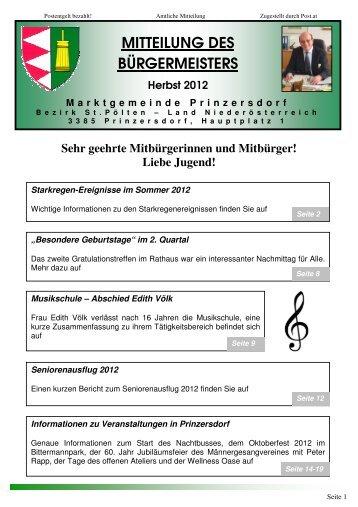 Mitteilung 3-2012 bearbeitet\374 - Marktgemeinde Prinzersdorf