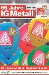 65 Jahre - IG Metall Wolfsburg