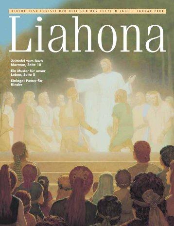 Januar 2004 Liahona - Kirche Jesu Christi der Heiligen der Letzten ...