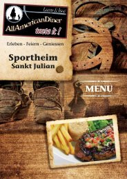 Sportheim - Larry & Isas All American Diner
