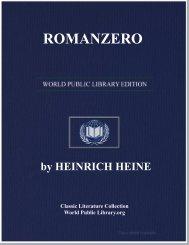 ROMANZERO - World eBook Library - World Public Library