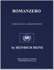 ROMANZERO - World eBook Library - World Public Library