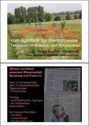 Vom Agroforst zur Wertholzwiese - Baden-Württemberg
