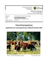 2009 [Download *.pdf, 0,53 MB] - Landwirtschaft in Sachsen
