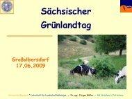 Ökologischer Landbau I - Landwirtschaft in Sachsen