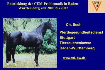 Contagiöse Equine Metritis