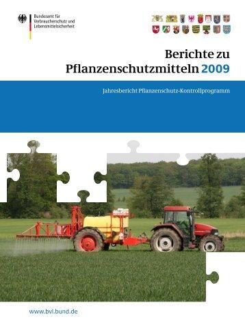 Jahresbericht Pflanzenschutz-Kontrollprogramm