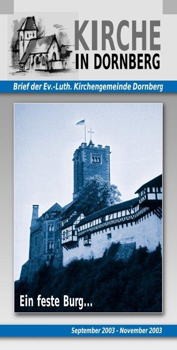 Ausgabe 09 - Peterskirche in Dornberg