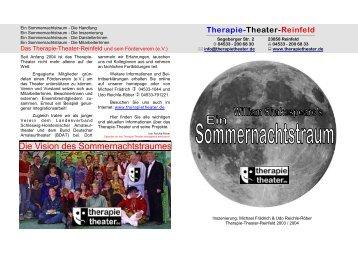 Sommernachtstraum?? - Therapie-Theater Reinfeld