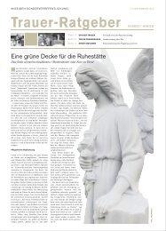 Trauer-Ratgeber November 2012 PDF - Rhein-Main.Net