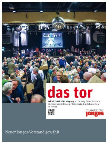 Neuer Jonges-Vorstand gewählt - Heimatverein Düsseldorfer Jonges